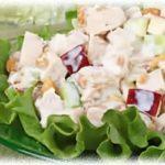 Салат из курицы с грецкими орехами
