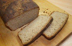 Хлеб ржаной на закваске без дрожжей