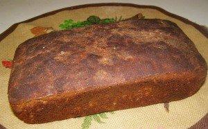 Хлеб ржаной  без дрожжей