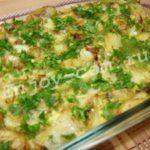 Запеченная картофельная тортилья