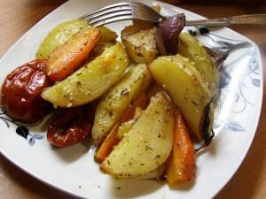 вкусная запеченная картошка в духовке