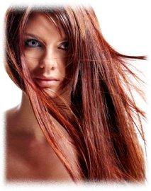 Цветное ламинирование волос фото