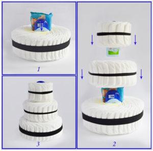 Собираем тортик
